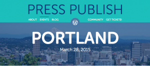 Press Publish is coming to Portland, OR this week to share inspiration and tools for better blogging.