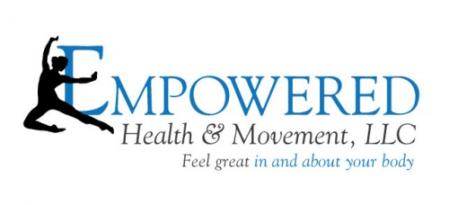 Empowered tag-line logo